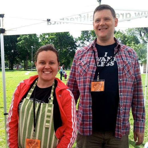 Julie & Tim:WPFM Volunteers