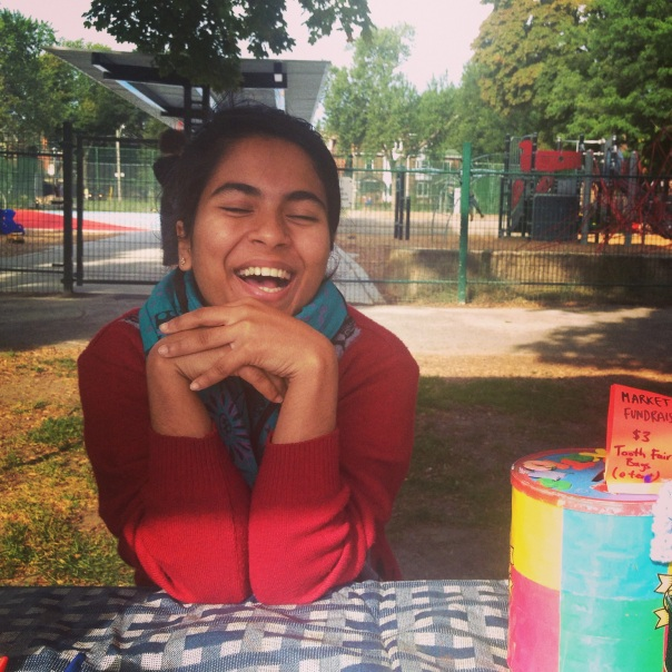 Our Withrow Market volunteer : Fatiha