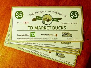 TD Market Bucks program.