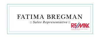 Fatima Bregman / Sales Representative / Remax